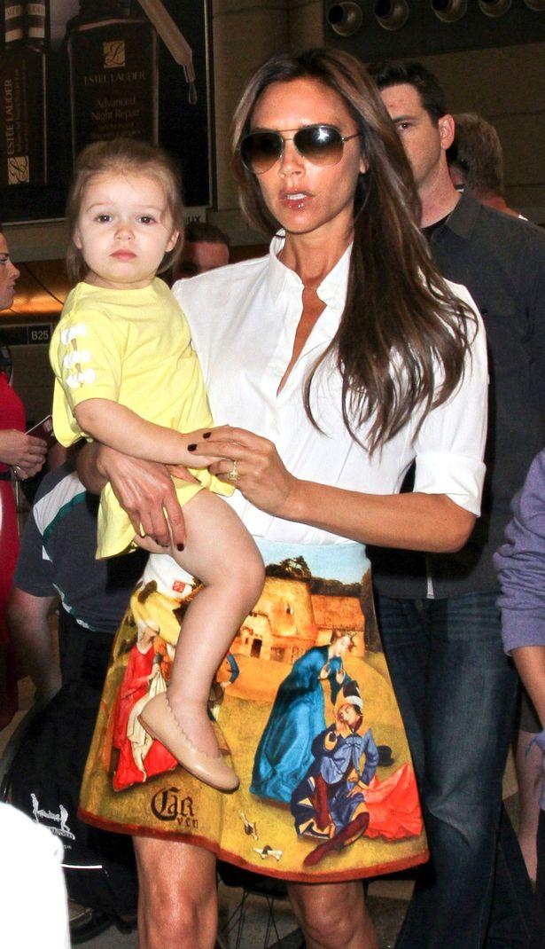 Happy Birthday to the Super Chic Three Year Old Harper Beckham