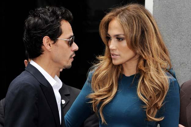 Jennifer Lopez splits with Mark Anthony