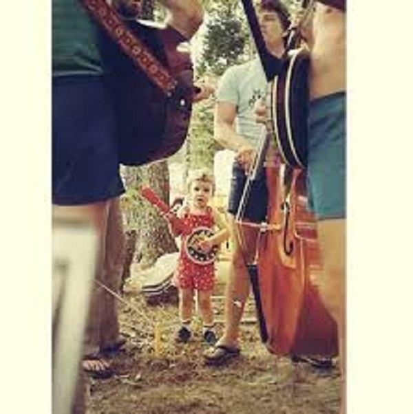 Justin Timberlake Shared Pictures Playing Mini Banjo 2