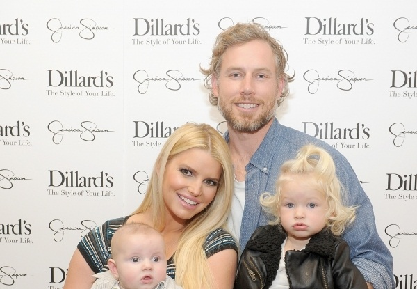 Ace and Maxwell Joined Their Mother Jessica Simpson In The Fashion Show 1
