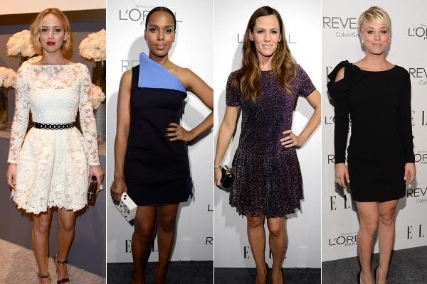 Kate Middleton, Jennifer Lawrence and a flotilla of Best Dressed Stars Gathered together
