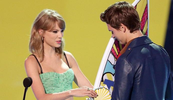 Taylor Swift- Is She Having A Secret Crush on Ansel Elgort