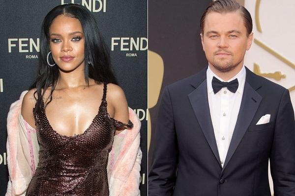 Leonardo Dicaprio Helped Rihanna To Celebrate Her 27th Birthday Party