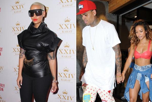 Amber Rose Advises Karrueche Tran To forgive Chris Brown and Take Him Back 1