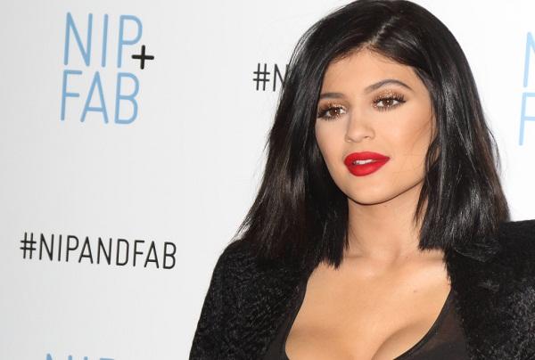 Kylie Jenner Nip Fab Photocall
