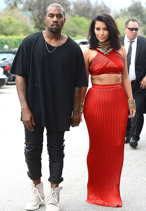 Is Kim Kardashian Pregnant Again She bans Kanye from Wearing Leather Pants 1