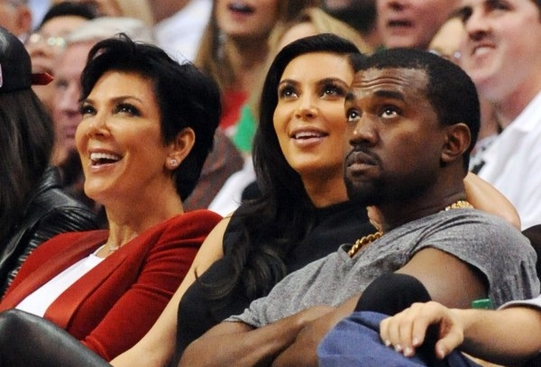 Kris Jenner- She seems to be upset with Kanye West 1