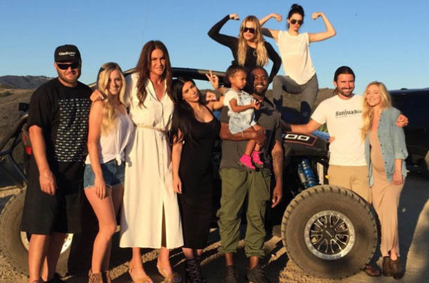 FAMILY FUN Caitlyn Jenner is joined by clan to celebrate Father's Day