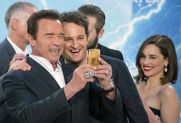 Schwarzenegger reprises role in 'Terminator Genisys' - Today's Zaman