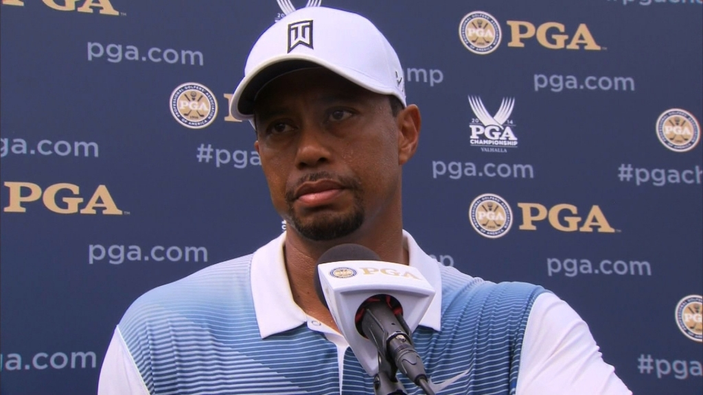 Tiger Woods has not only declared himself fit to play at this week's PGA Championship after playing nine holes of practice at Valhalla on Wednesday but is also confidently declaring he can win the tournament