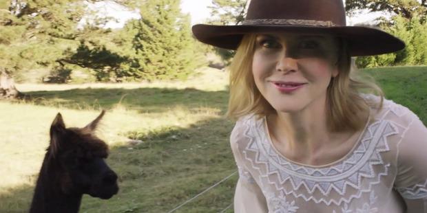 Actress Nicole Kidman on her Australian farm