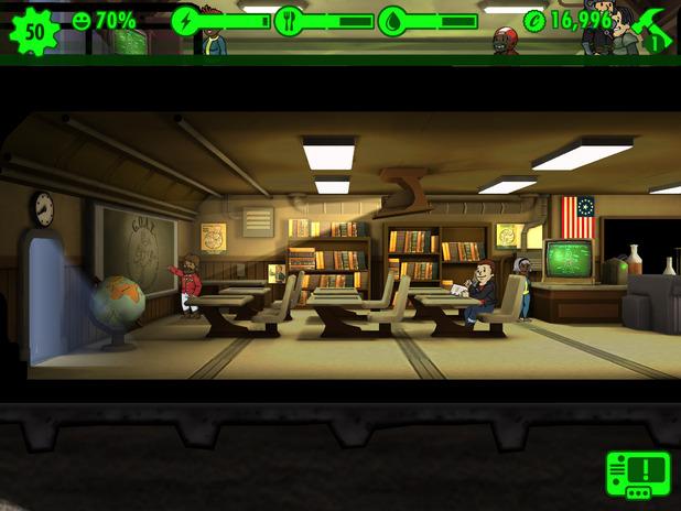 Fallout Shelter iOS screenshot