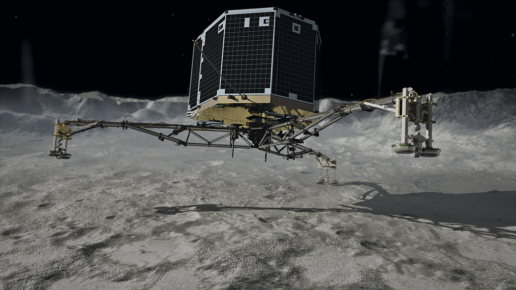 Comet team says Philae lander gets back in touch with new data