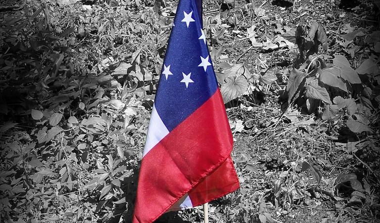 Confederate Flag Steve Cornelius