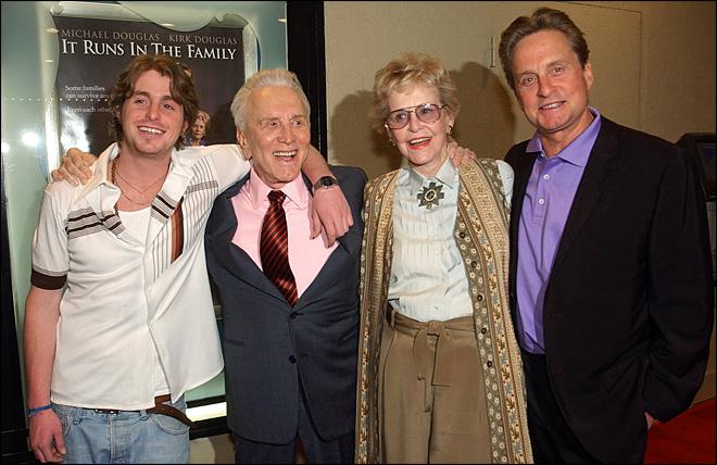 Diana Douglas 1st wife of Kirk Douglas dies at 92
