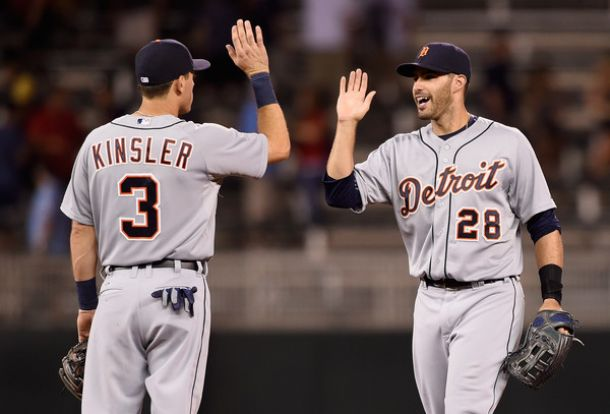 Ian Kinsler Gives Detroit Tigers The Win Over Minnesota Twins