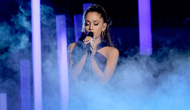 Ariana Grande ponytail