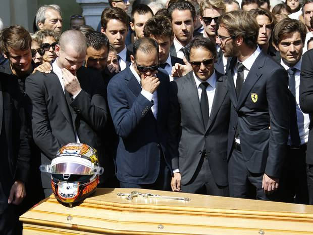 F1 fraternity bids farewell to'late Jules Bianchi | Business Standard News