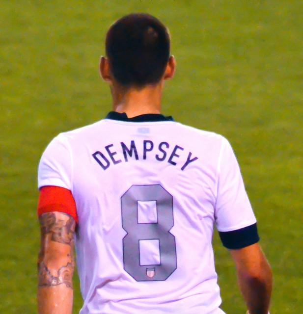 Dempsey's 3 goals lift US over Cuba 6-0, into Gold Cup semis