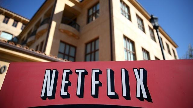 Netflix logo headquarters