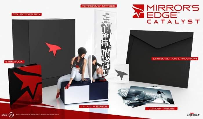 EA unveils Mirror's Edge Catalyst collectors edition spotlighting Faith - Modvive