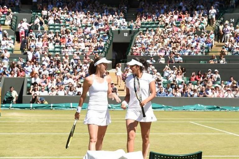 Sania-Martina reach Wimbledon semis | TwoCircles.net