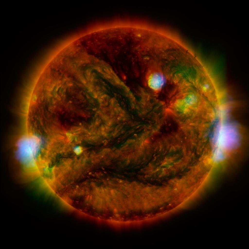 Solar Flaring Revealed by X Ray Telescopes