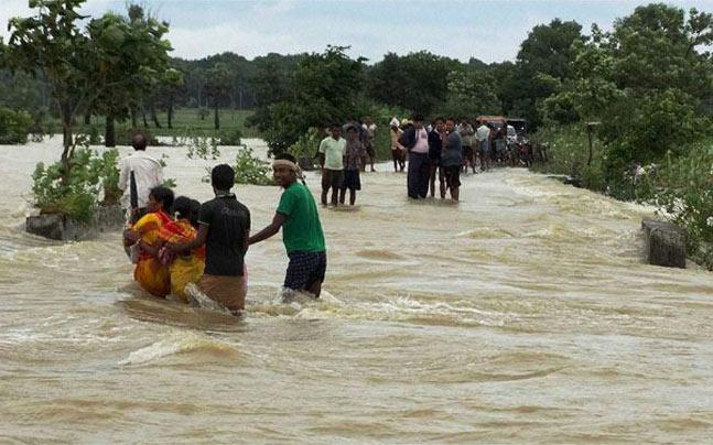 Flood threat in Odisha