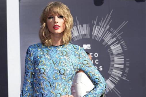 Pop superstar Taylor Swift