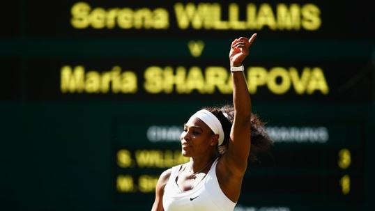 2015 Wimbledon- Williams defeats Sharapova
