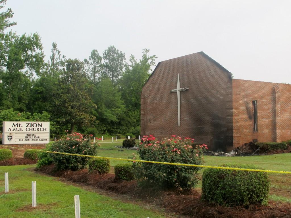 Lightning caused S.C. church fire, officials say - CNN.com
