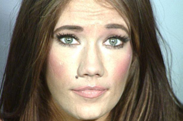 Splash News  Arrest Former Miss Nevada Katie Rees