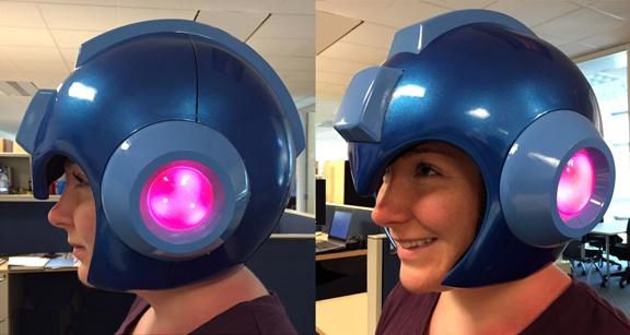 Mega Man Helmet