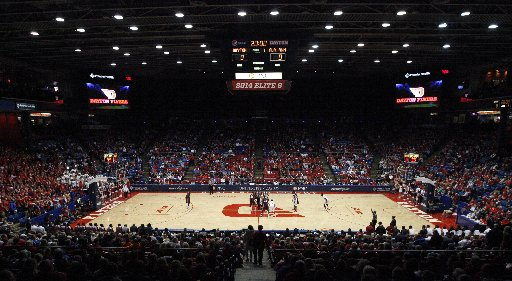 NCAA Dayton men's basketball ranks 24th in average attendance