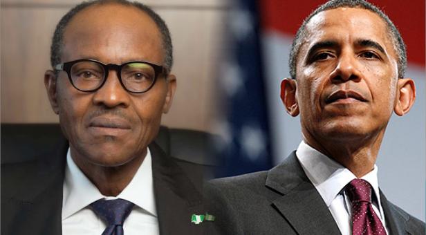 US President Barack Obama and Nigeria's President Muhammadu Buhari