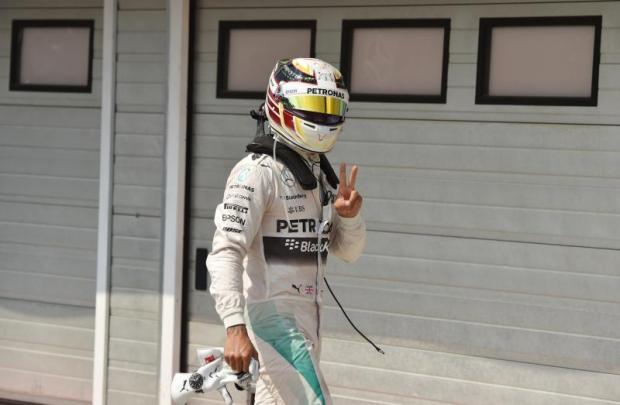 Lewis Hamilton on pole for Hungarian Grand Prix