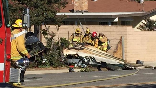 Small Plane Crashes in Riverside County | NBC Southern California - NBC Los