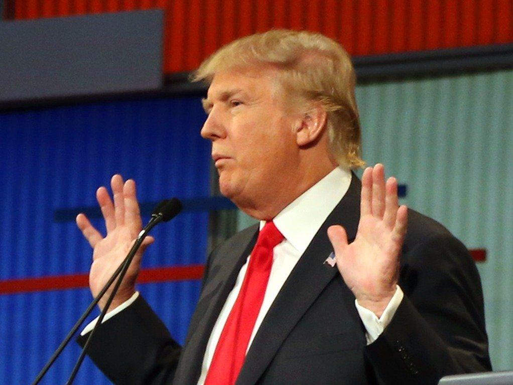 Donald Trump GOP debate