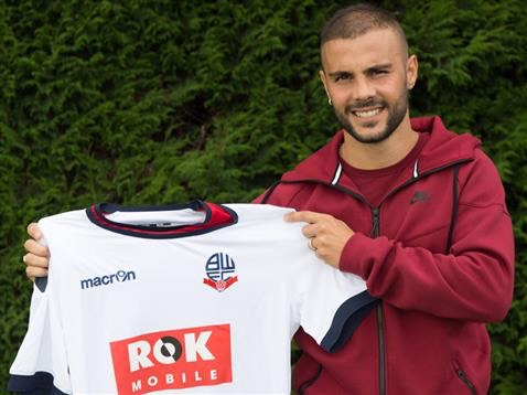 Bolton finally sign Pisano 0ByJake Fern onAug 20 2015 Bolton Wanderers Championship Transfers