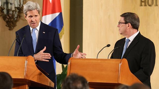 John Kerry says too early to judge Cuba