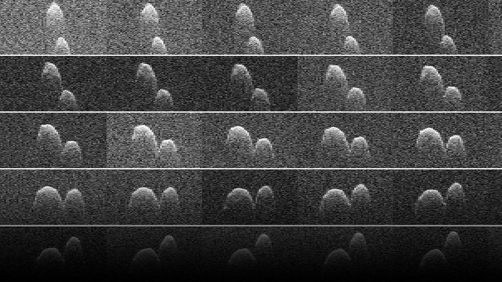 The asteroid is between 660- 980 feet in diameter