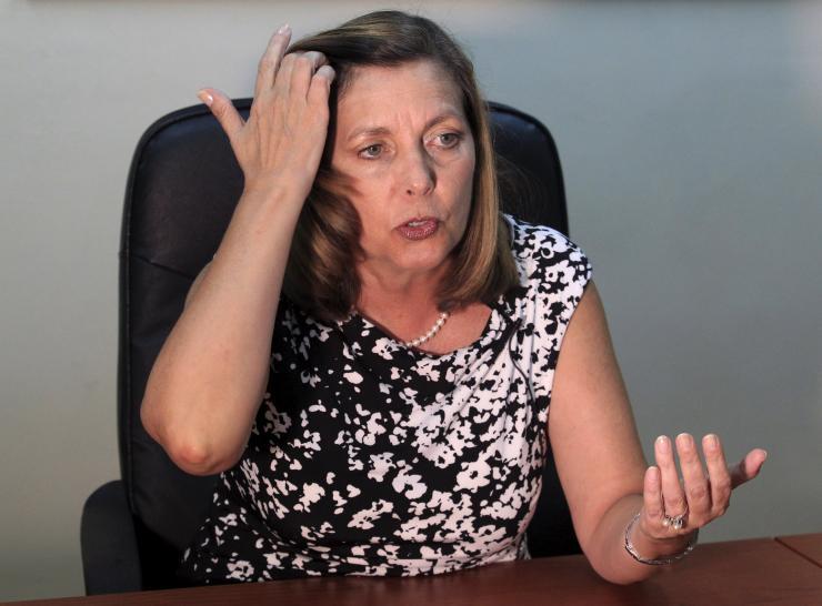 Josefina Vidal Director of U.S. Affairs at Cuba's Foreign Ministry Aug. 14 2015
