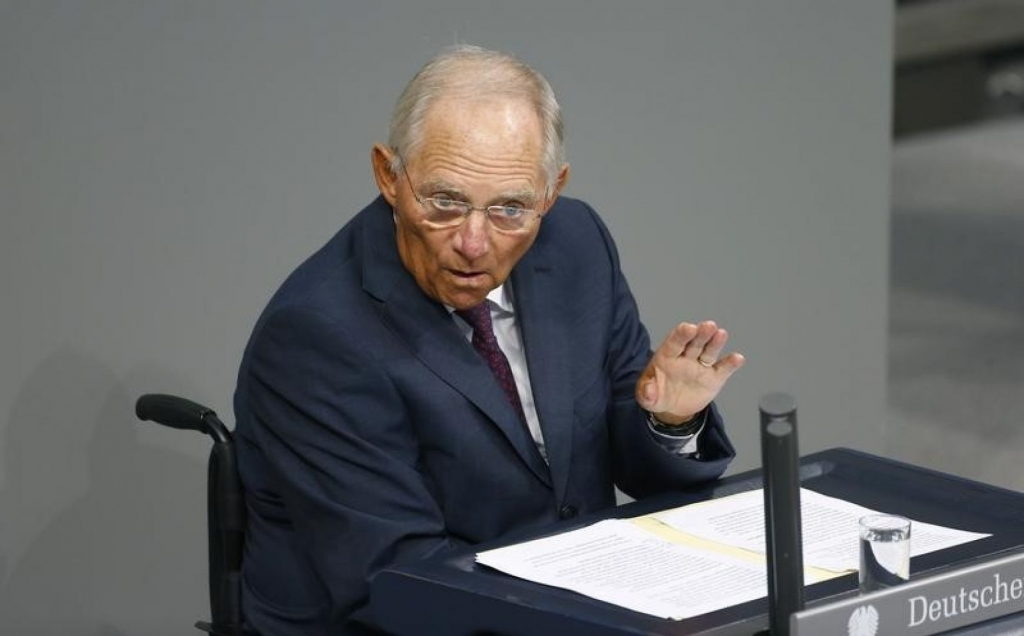 Give Greece a chance says Schaeuble before German vote