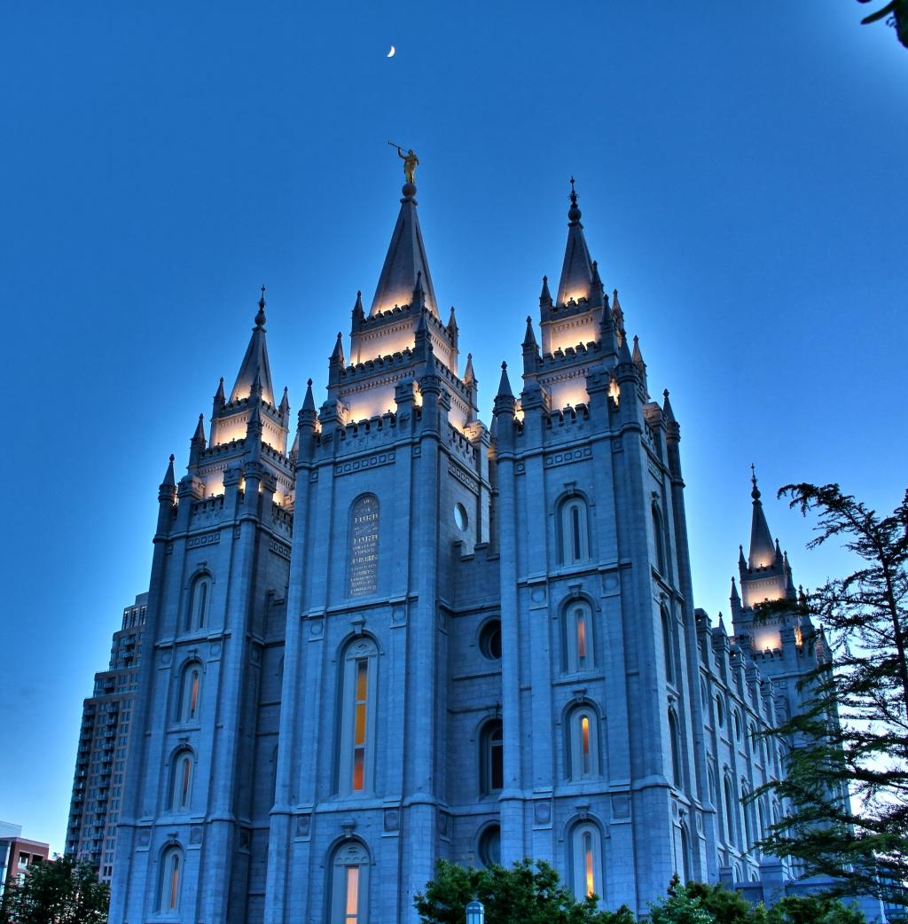 LDS Temple SLC