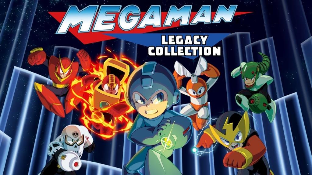 00 Mega Man Legacy Collection