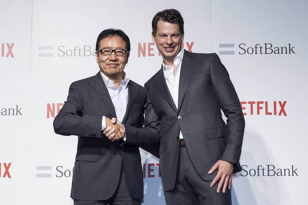 Netflix Partnering with Japan's Soft Bank Plans Original Local Content