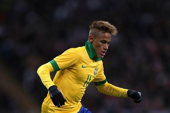 Neymar has risen to become Brazil's goldenboy