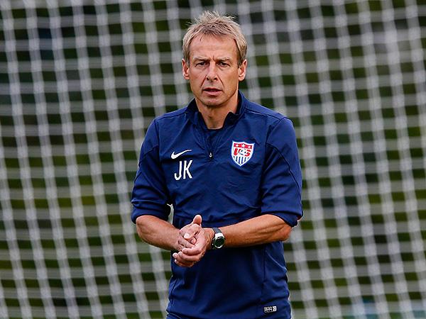 U.S. men´s national team head coach Jurgen Klinsmann
