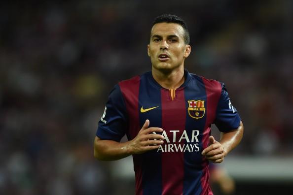 Pedro Manchester United Barcelona