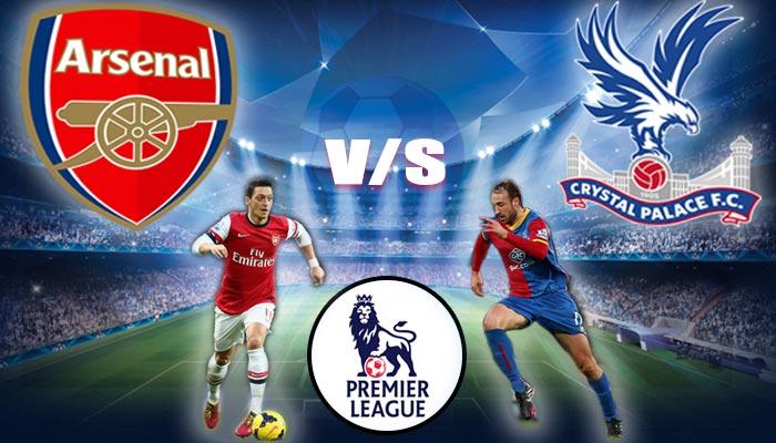 LIVE English Premier League Arsenal vs Crystal Palace at Selhurst Park Stadium